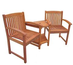 outdoor wooden chairs with arms. Bentley Wooden Companion Garden Seat Outdoor Chairs With Arms