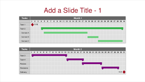 Fillable Gantt Chart Simple Gantt Chart