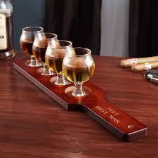 union street personalized whiskey tasting set to enlarge