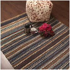 rugsville stripe beige handmade jute dhurrie rug 4 5 x 6 5