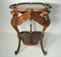 EMILE GALLE ART NOUVEAU DRAGONFLY TABLE Style Art Nouveau Maker