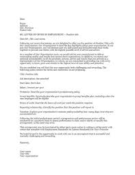 offer letter of employment info 44 fantastic offer letter templates employment counter offer job