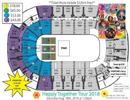 Family Arena St Charles Mo Seating Chart Happy Together 2018