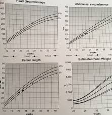 Antenatal Growth Chart Centile Lines Below The 10th Centile Netmums