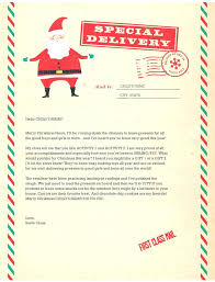 Free Letter From Santa Word Template Letterhead Word Template Letter To Santa Doc Free Alanhall Co