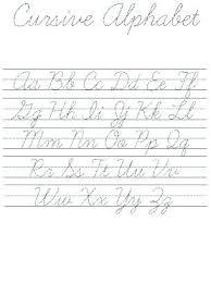 Practice Cursive Letters Az Magdalene Project Org