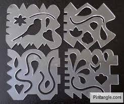 Stitchers Templates set 2 - Pintangle & Crazy Quilt Templates set 2 Adamdwight.com