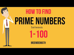 How To Find Prime Numbers Between 1 And 100