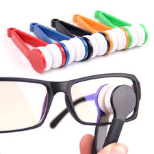 travel travel standing multifunction portable glasses wipe clean the glasses do not hurt the lens glasses