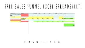 Sales Pipeline Template Excel Free Sales Funnel E Download
