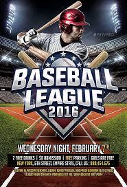Free Baseball Flyer Template Baseball Sports League Flyer Template Download Psd Ffflyer