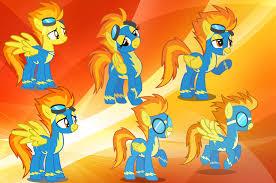 spitfire my little pony. fanmade spitfire.png spitfire my little pony