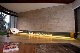 linear fireplace ideas