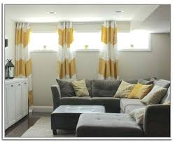 basement curtain ideas. Plain Ideas Curtains For Short Windows Photo 2 Of 4 Wonderful Curtain Ideas  And Basement Curtain Ideas
