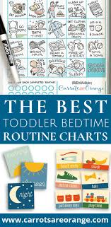 Bedtime Routine Chart The 7 Most Beautiful Easy To Use Toddler Bedtime Routine