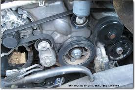 pentastar engines repairs and maintenance belt routing
