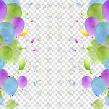 Free Birthday Backgrounds Bright Balloons And Confetti Birthday Background Stock Vector Image