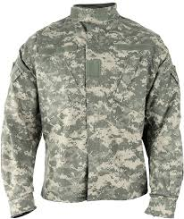 Army Combat Uniform Acu Jacket Size Chart 0 00 Burns