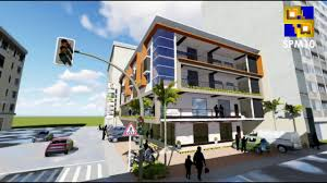 Design Concept For Commercial Building Cagayan De Oro Builder Spm10 4 Storey Commercial Building Concept