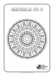 Small Picture Mandalas Cool Coloring Pages