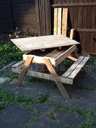 15 unique pallet picnic table 101 pallets like the idea of the storage