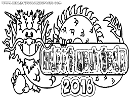 Small Picture Printable Coloring Pages Happy New Year Coloring Pages