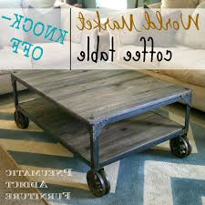 pneumatic addict world market aiden coffee table knock off for most cur aiden