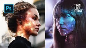 Cara Membuat Efek Lighting Di Photoshop Cara Edit Foto Keren Skin Light Effect Di Photoshop