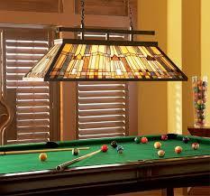 billiard room lighting. Inglenook Art Deco Style 3 Lamp Tiffany Snooker Island Light Billiard Room Lighting
