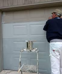 paint garage doorDIY Home Staging Tips Overhead Garage Door RePaint Operate your