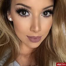 this is actually my go to and favorite makeup look to do today and for the brown lipstick makeupbig eye