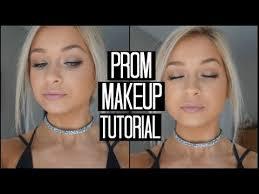 natural prom makeup tutorial 2017
