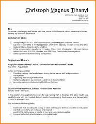 Stock Clerk Resume Sample Job Skills Of A Grocery Store Clerk