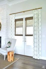 curtain rods for patio sliding doors medium size of sliding door curtain rod size patio door