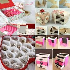 awesome diy jewelry box ideas youll want try 11 cardboard