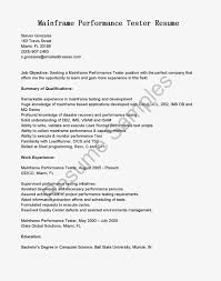 Sample Mainframe Resume Mainframe Resume Samples Enderrealtyparkco 5