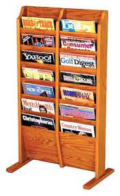 magazine racks for office. Office Magazine Racks File Rack Wood For Business . Decoration Wall