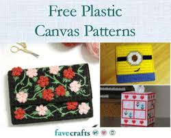 Free Printable Plastic Canvas Tissue Box Patterns