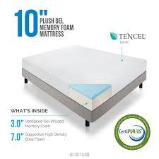 memory foam mattress. Unique Memory 10 On Memory Foam Mattress G