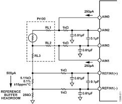 cn0383 circuit note analog devices ad7124 4 ad7124 8 configuration for 3 wire rtd measurement using the current chopping measurement technique