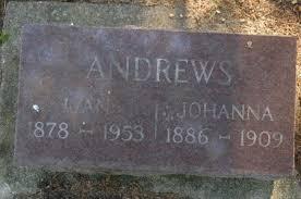 ANDREWS, IVAN - Clinton County, Iowa   IVAN ANDREWS - Iowa Gravestone Photos