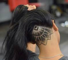 Girl Fade Designs I Want One Really Bad Undercut Hair Designs Undercut