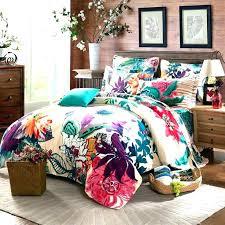 boho comforter quilt set bed quilts s sets twin full queen size bohemian xl boho comforter pink duvet cover set