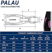 Cressi Pro Light Size Chart Cressi Mini Palau Junior Bag Snorkeling Set
