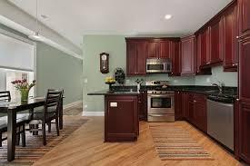 Sage Green Kitchen Cabinets With Black Appliances MPTstudio - Dark brown kitchen cabinets