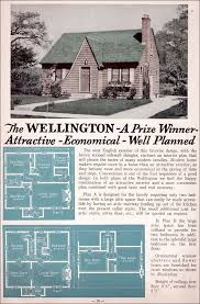 The Wellington   Modest English Cottage Style of the s   Lewis     Liberty Homes   Lewis Manufacturing   The Wellington
