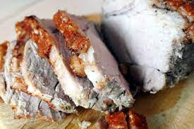 crispy air fryer roast pork love food