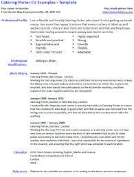 Porter Resume Examples Porter Resume Example Pega Porter Resume Samples Doorman