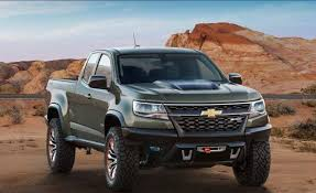 chevrolet trucks 2017. 2017 chevrolet colorado zr2 front trucks