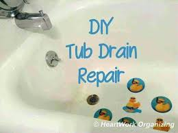 how to replace a bathtub stopper replacing a bathtub drain stopper how to fix bathtub stopper